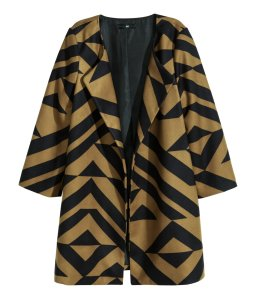 H&M Pattern Coat
