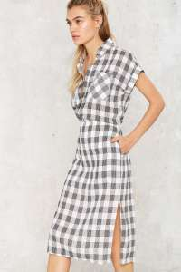 Nasty Gal Walk in the Park Gingham Dress